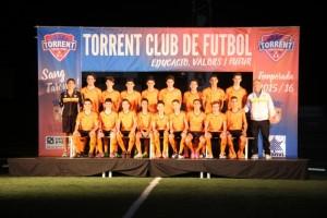 El Torrent C.F. presenta su escuela con 575 deportistas